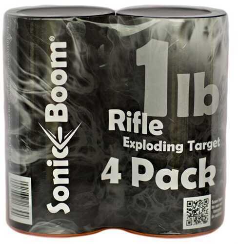 Sonic Boom TargetsSonic Boom 1 Lb EXPODING Rifle Target 4 Pack