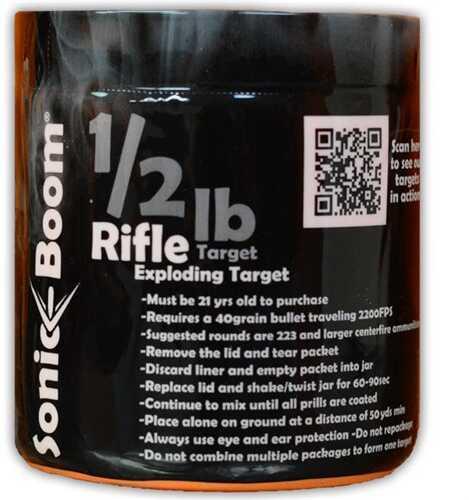 Sonic Boom TargetsSonic Boom 1/2Lb EXPLODING Target Rifle