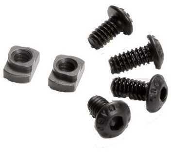 Magpul Mag615-Black M-LOK T-Nut Replacement Set Chromoly Steel Black Manganese