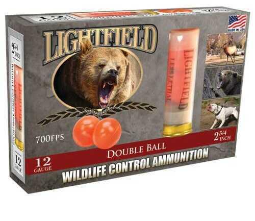 Lightfield AmmoLightfield 12Ga 2 Double Rubber Ball 5/Bx
