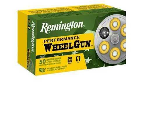Remington Performance WheelGun 45 Colt (Long Colt) 250 Grain Lead Round Nose Ammunition, 50 Rounds Md: RPW45C