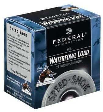 Federal Speed-Shok 12 Gauge 3'' 1-1/4Oz  Steel Shot #T 25/Bx