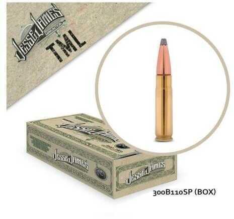 Jesse James TML 300 Blk 110 Grains SP 20Bx