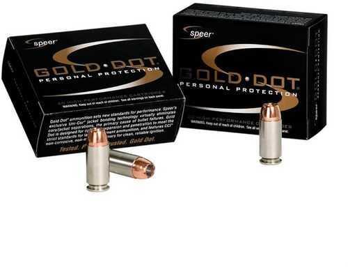 Speer Gold Dot Ammo 25 Auto 35 Grain HP 20 Box