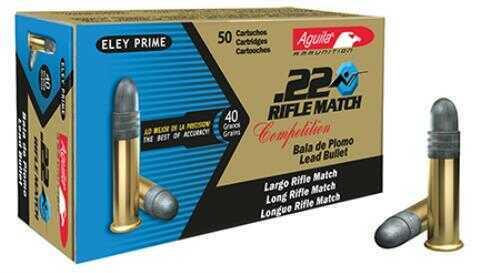 Aguila 22 Match Rifle 40 Grain 50/Box
