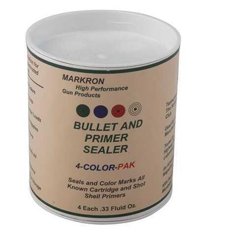 Stevens MPS04 Markron Bullet & Primer Sealer 1/3 Fl Oz 4 Bottles