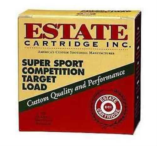 Estate Super Sport 12 Gauge 2.75 Inch 1-1/8 Ounce #9 Shot Shotshells, 25 Rounds Per Box