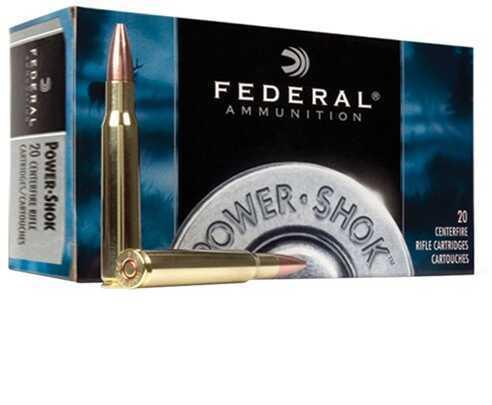 Federal Power Shok 6mm Rem 100 Grain SP 20/Bx