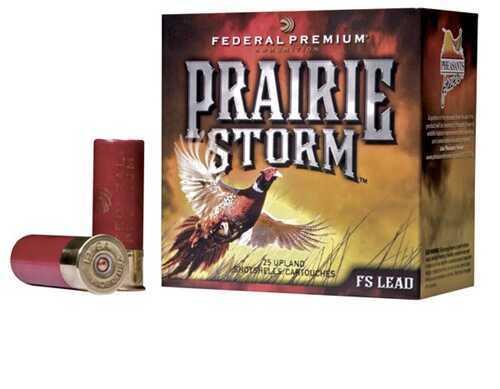 "Federal Cartridge Prairie Storm Ammunition 12 Gauge 3"" 6 Shot (Per 25) Md: Pf129FS6"