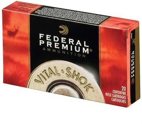 Federal Vital Shok 338 Winchester Mag 210 Grain Nosler Partition 20/Bx