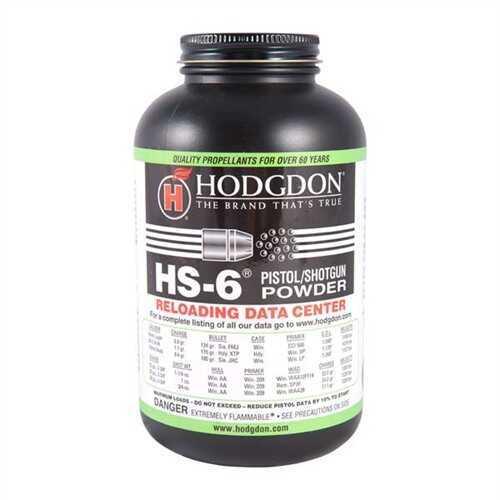 Hodgdon Powder Hs6 Smokeless 1 Lb