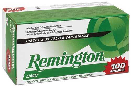 Remington UMc Value Pack 9mm 115 Grain Mc 100/Bx