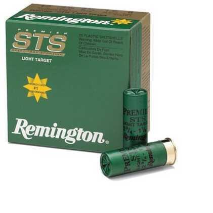 Remington STS Target 12Ga 2.75'' 1-1/8Oz #9 25/Bx
