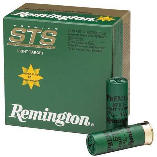 Remington STS Target 12 Gauge 2.75'' 1-1/8Oz #7.5 25/Bx