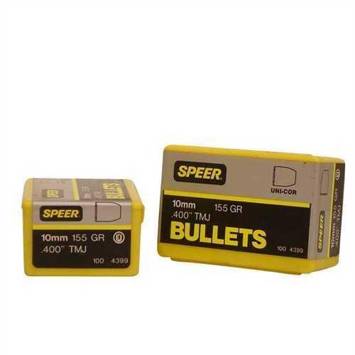 Speer Bullet 10MM .400 155 Grains TMJ
