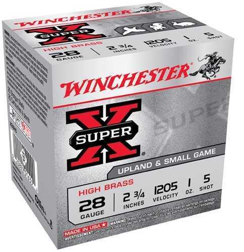"28 Gauge By Winchester 28 Gauge 2 3/4"" 1Oz 5 Shot Per 25 Ammunition Md: X28H5"