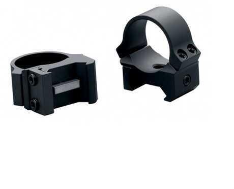 """Leupold PRW Rings 1"""" Medium Black Matte Md: 54149"""