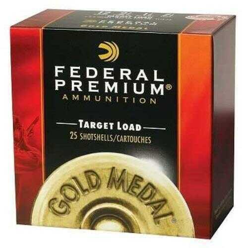 Federal Gold Medal Handicap Paper 12Ga 2.75'' 1-1/8Oz #8 25/Bx (25 rounds Per Box)