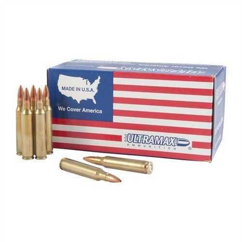 Ultramax Ammo 223 Remington 62 Grain FMJ Md: UMA223R10