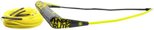 Hyperlite Team Handle w/75' Silicone X-Line Combo - Yellow