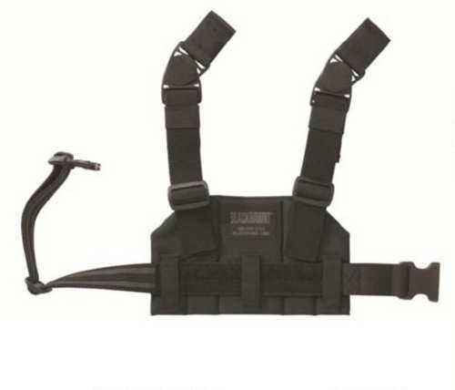 Blackhawk! Compact Strike Drop Leg PLTFM 3X6X4 Blk