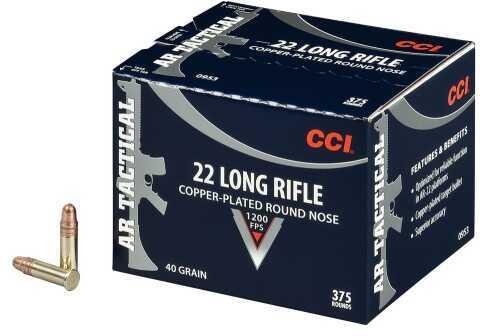 CCICCI Rimfire 22LR 40Gr CPRN 375Rd/Bx