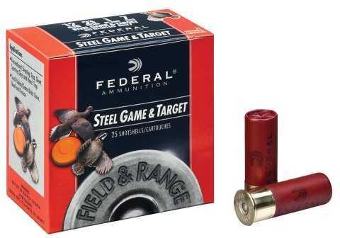 Federal 12Ga Steel 2 3/4 1Oz 6 Shot Field & Range Ammunition FRS126