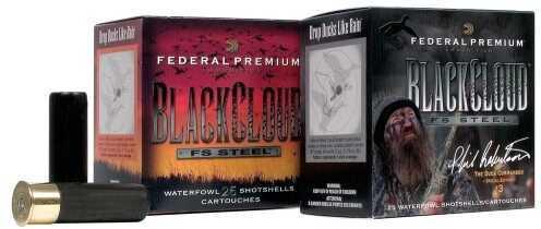 "Federal Black Cloud 12 Gauge 2.75"" 1 Oz. #3 Shot Per 25 Ammunition Md: PWB1463"