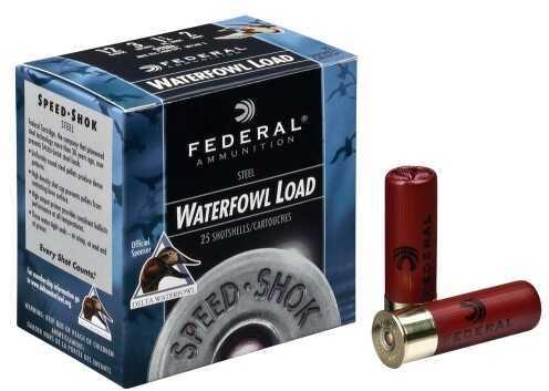 "Federal Speed-Shok Steel Shot Ammo 12Ga 3.5"" 1 1/2Oz #2 1500 Fps"