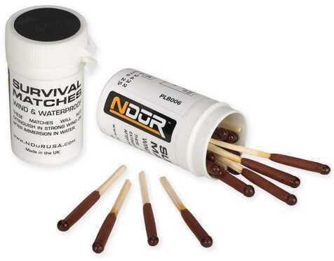 NDuR NDUR Matches Survival Bulk Tubes