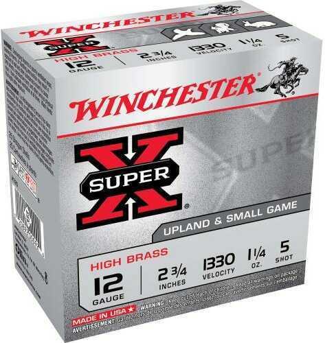 """Winchester Super-X High Brass Game LD 12 Gauge 2 3/4"""" 25 Rds Ammunition X125"""