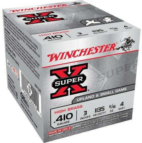 Winchester Ammo 410Ga 3In Supr-X MAXd 11/16Oz #4 (25 rounds Per Box)