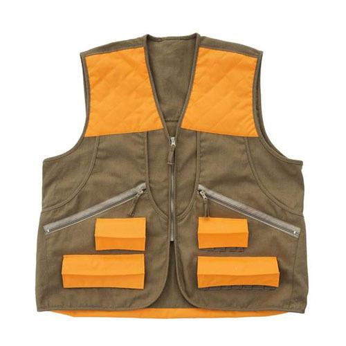 Allen Springer Upland Vest Brown/Orange S-M
