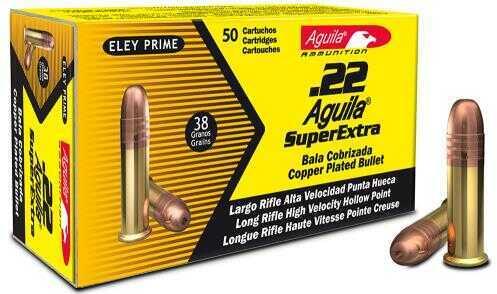 Aguila 22l LR Super Xtra HP 38 Grains 50 bx
