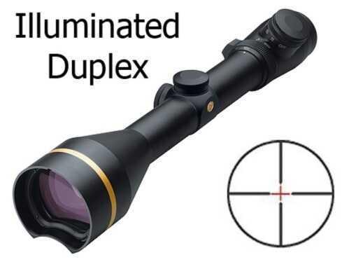 Leupold VX-L Riflescope 3.5-10x50mm QDManager, Matte Black, Illuminated D Md: 64180