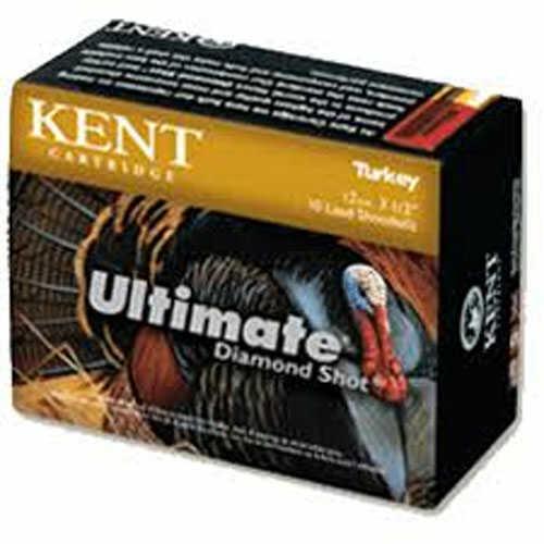 "Kent Ultimate Diamond Shot Turkey 20 Gauge 3"" 1 1/4Oz 10 rounds Per Box Shotshells"