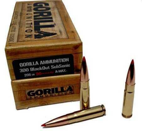 Gorilla 300 Blackout 110 Grain Controlled Chaos 20 Box