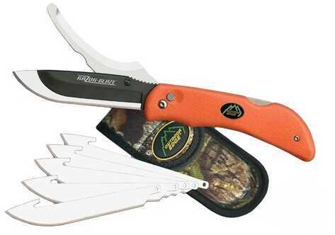 Outdoor Edge Cutlery Corp Razor-Pro, 6 Blades Orange