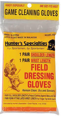 Hunters Specialties Field Dress Gloves Short 1 pr. Model: 01071