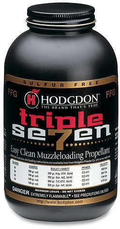 Hodgdon Triple Seven Powder FFG 1 lb. HAZMAT Model: T72