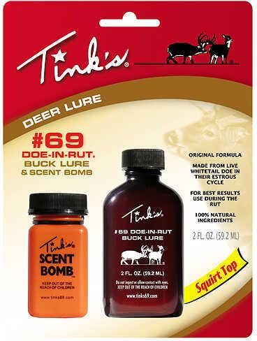 Tink'sTinks Trophy Buck Urine 2Oz With Scent Bomb
