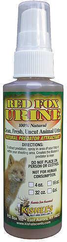 Kishels Red Fox Urine 4 oz. Model: URF4