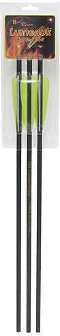 "Lumenok Xbow Arrow 20"" Carbon HD Orange[Lighted] Nock  Model: BECC3"