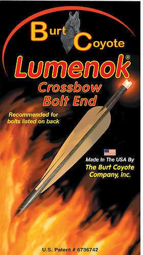 Lumenok Crossbow Nock HD Orange Gold Tip Moon 3 pk. Model: GTC3
