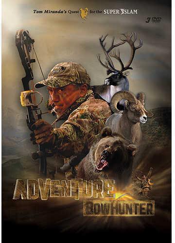 Tom Miranda Adventure Bowhunter 3 DVD Set Model: