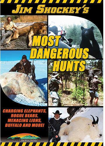 Stoney Wolf Jim Shockeys Most Dangerous Hunts DVD
