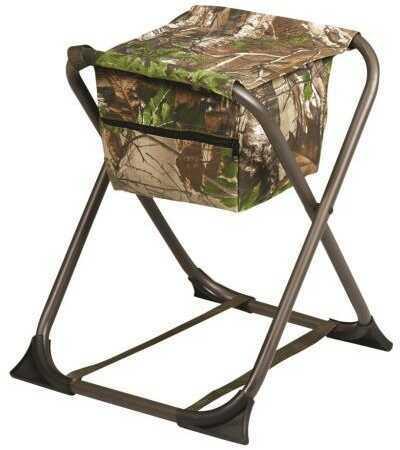 Hunters Specialties 07280 Dove Stool Realtree Xtra Green Polyester/Steel