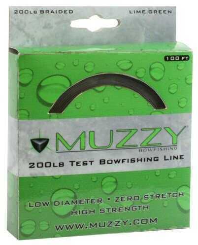 Muzzy 200# Bowfishing Line, 100 Feet Md: 1078