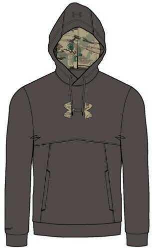 Under Armour Icon Caliber Hoodie Maverick Brown Large Model: 1279836-240-LG