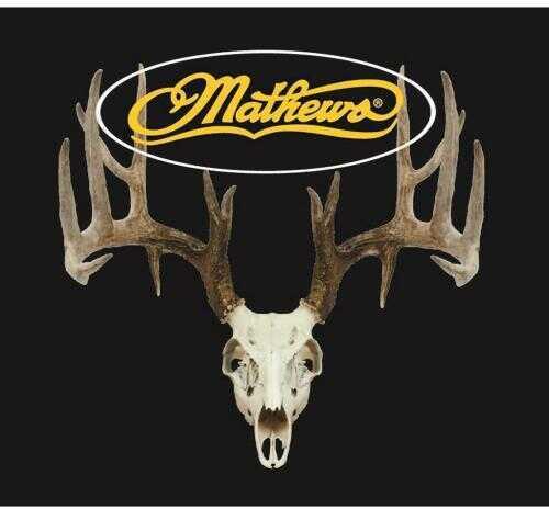 DWD Mathews Decal Whitetail Deer Skull Model: 2015G